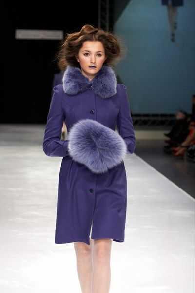 Зимнее пальто от Екатерины Смолиной.